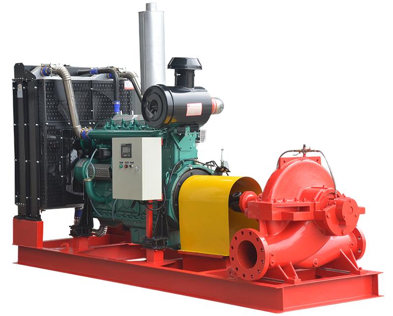 Split Casing Diesel Fire Pump, split case pump, split case