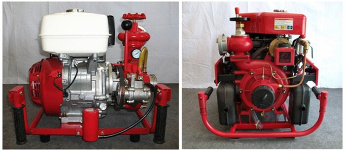 Portable Diesel Engine Fire Pump, portable fire pump,diesel