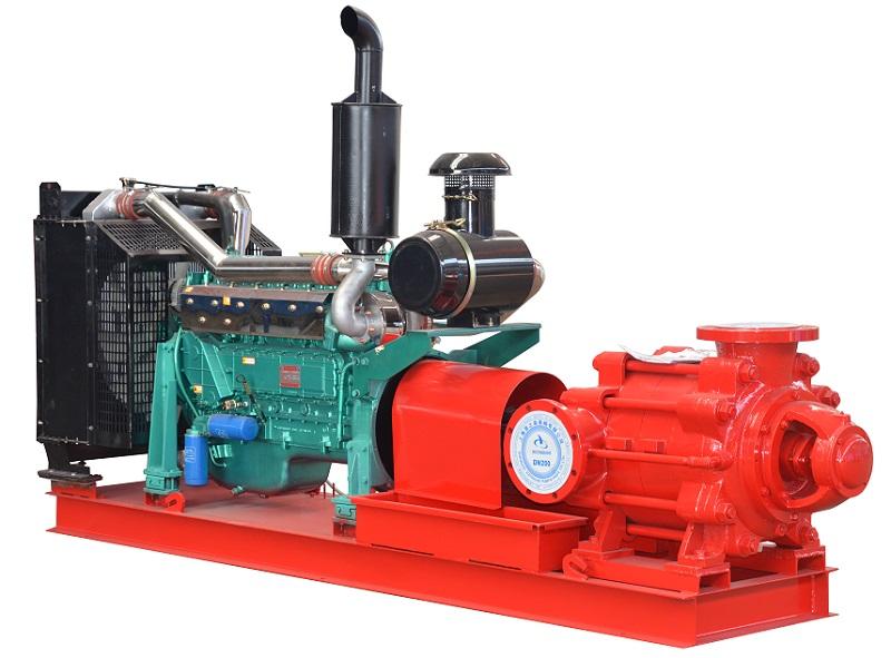 Multistage Diesel Fire Pump, diesel engine fire pump, diesel