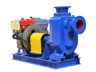 self priming pump diesel